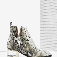 Jeffrey Campbell Boone Leather Boot - Snake