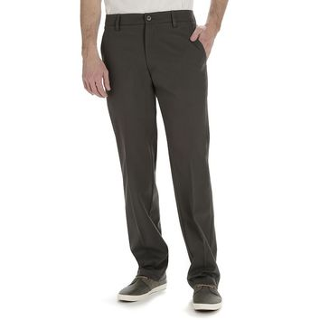 Lee Performance Series Chino Straight-Fit Stretch Flat-Front Pants - Men, Size: