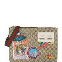Gucci Courrier Appliqué Detail Messenger Bag | Harrods.com