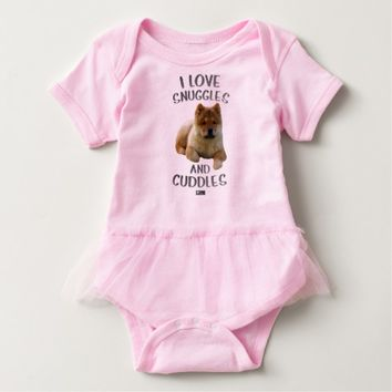 Snuggles Baby Design by Kat Worth Baby Bodysuit