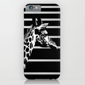 Spots & Stripes iPhone & iPod Case by Derek Delacroix
