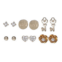 6 On Earring Set | Shop Jewelry at Wet Seal
