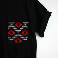 Pocketz Tribal on Black from Pocketz