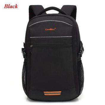Cool Backpack school COOLBELL USB Charging Multi-function Backpack Reflective Strip Casual Men's Bag Teenager 15inch Laptop Bags Fashion Male Mochila AT_52_3