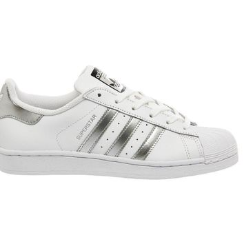Adidas Superstar 1 White Silver Met Core Black a919afd819
