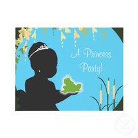 Birthday Invitation - Princess & Frog from Zazzle.com