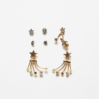 PACK OF STAR EARRINGSDETAILS