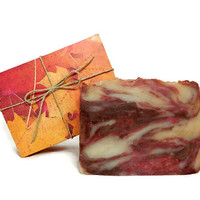 Autumn Harvest Soap, Handmade Soap, Vegan Soap, Gift under 10