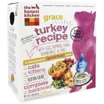 The Honest Kitchen Grace Dehydrated Turkey Cat Food