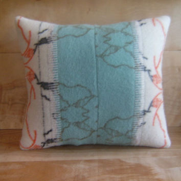 Pendleton Wool Pillow 16x18 by RobinCottage on Etsy