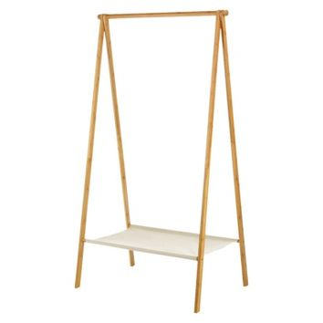 Threshold Natural Wood A Frame Garment Rack