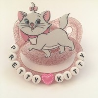 """Pretty kitty"" adult pacifier from Deadly littles"