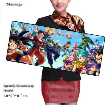 Mairuige Naruto Large Gaming 900*400 league of Legends Mousepad Mouse Pad Gamer Locking Edge Mouse Keyboards Mat Grande Mousepad