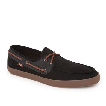 Vans Chauffeur Washed Shoes - Mens Shoes - Black/Gum