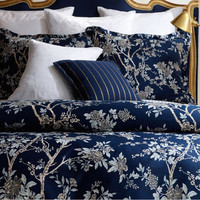 American Ocean flower King 100% Egyptian Cotton Bedding Set High QualityTribute Home Bed Sets Duvet Cover Bedsheet Pillowsham-in Bedding Sets from Home & Garden on Aliexpress.com | Alibaba Group