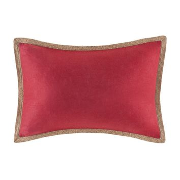 Linen with Jute Trim Oblong Pillow - Home Decor | Madison Park