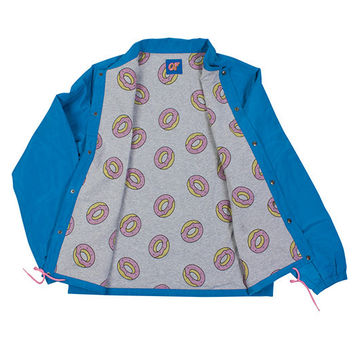 Donut Print Coach Jacket – Odd Future