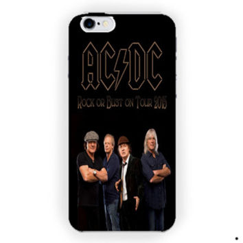 Acdc Rock Band For iPhone 6 / 6 Plus Case
