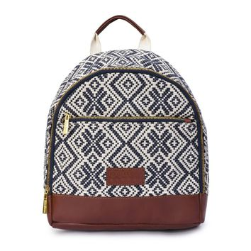 Phive Rivers Women's Jacquard Fabric Backpack -PRU1362