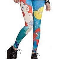 Little Mermaid Leggings at Hot Topic