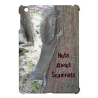 Nuts About Squirrels iPad Mini Case from Zazzle.com