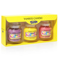 Peeps® Marshmallow Chicks Small Jar Candle Gift Set : Gift Set : Yankee Candle