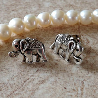 Elephant Small Cartilage Earring Body Jewelry Earring Post With Back