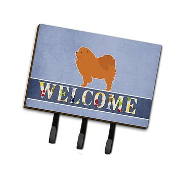 Chow Chow Welcome Leash or Key Holder BB5555TH68