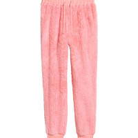 Fleece Joggers - from H&M
