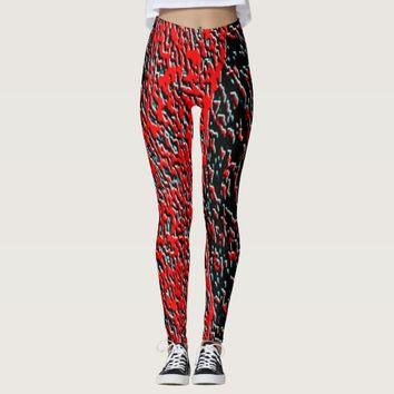 New abstract leggings