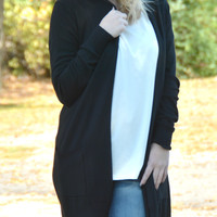 Simply Heaven Cardigan - Black