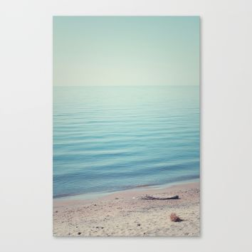 The Calm Canvas Print by Faded  Photos