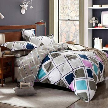PEAP78W 100% Cotton Bedding Set duvet cover set quilt cover set Twin queen size