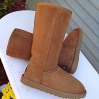 SALE Tall Chestnut Uggs