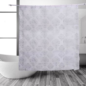 PEVA Bath Curtains Waterproof Shower Curtain Bathroom Product Mildew Proof Eco-friendly Waterproof Shower Curtains