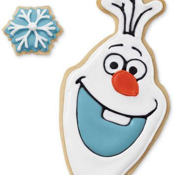 Wilton Disney Frozen 2-Piece Olaf Cookie Cutter Set