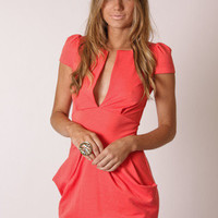 Esther Boutique - carrie dress- coral - pre order arrives 13th April