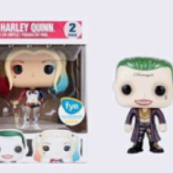 The Joker (Boxer) & Harley Quinn (Suicide Squad) (Metallic) (2-Pack) (FYE)