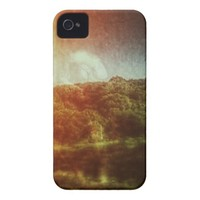 Rainbow Hill iPhone 4 Cover