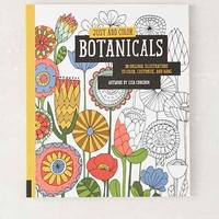 Just Add Color: Botanicals: 30 Original Illustrations To Color, Customize, And Hang By Lisa Congdon - Assorted One