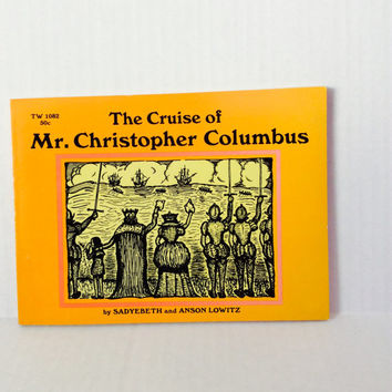 The Cruise of Christopher Columbus - Vintage Scholastic Children's Book - 1967
