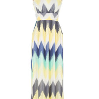 Flirty Chevron Maxi Dress