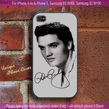 Celebrities Elvis Presley - iPhone 4 / iPhone 4S / iPhone 5 / Samsung S2 / Samsung S3 / Samsung S4 Case Cover
