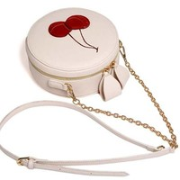 Online Shop Red Cherry Purse Crossbody Bag PU Hand Bag Cute Round Fruit Pattern Coin Purse Cherries Accessories Pouch Sweet Lolita Style | Aliexpress Mobile