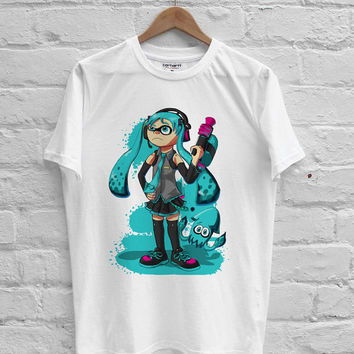 Splatoon inkling girl T-shirt Men, Women, Youth and Toddler
