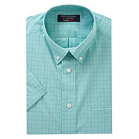 Roundtree & Yorke Short-Sleeve Travel Smart Sportshirt