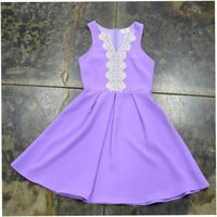 Everly Violet Dress