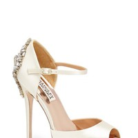 Badgley Mischka 'Kindra' Satin Pump
