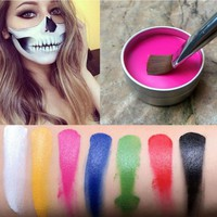 Face Painting Tattoo Body Paint Oil Painting Art Halloween Party Fancy Beauty Makeup Face Paint Tools