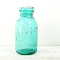 Blue Ball Mason Glass Jar - Canning